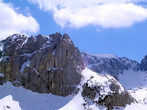 North side of Terzin Bogaz...
