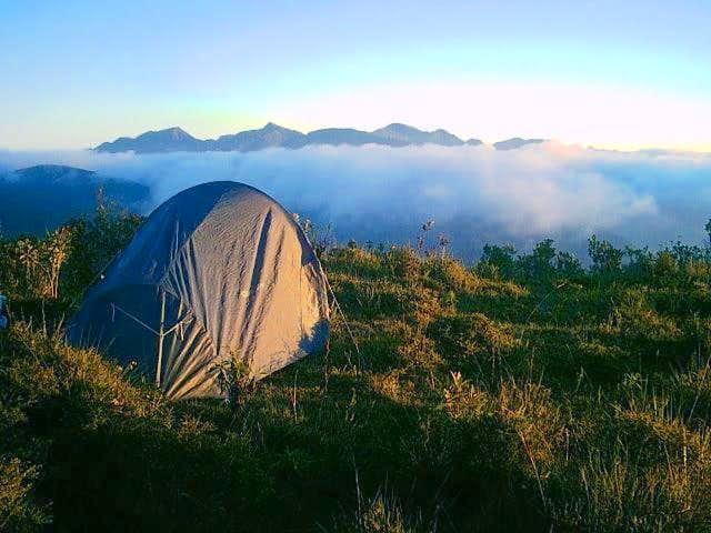 Wild camping with Pedra da...