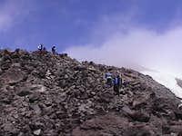 Monitor Ridge just below 7000...