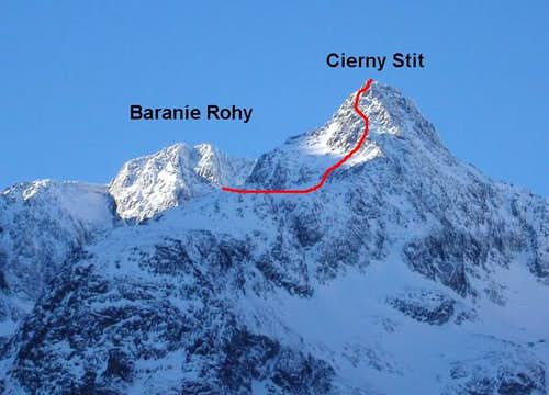 Cierny Stit and Baranie Rohy...