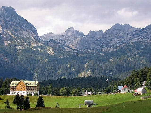 Alpine scenery of Zabljak...