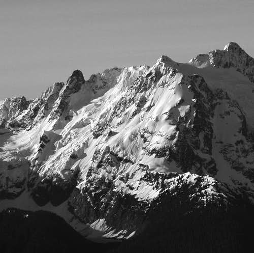 North Face of Shuksan (center...