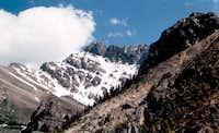 Noth Face Mt Borah as seen...