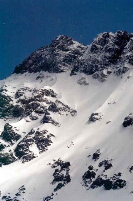 North face Mt Borah