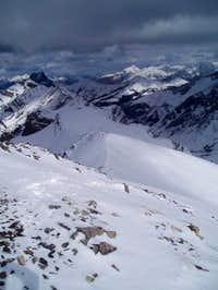 What an amazing ridge.