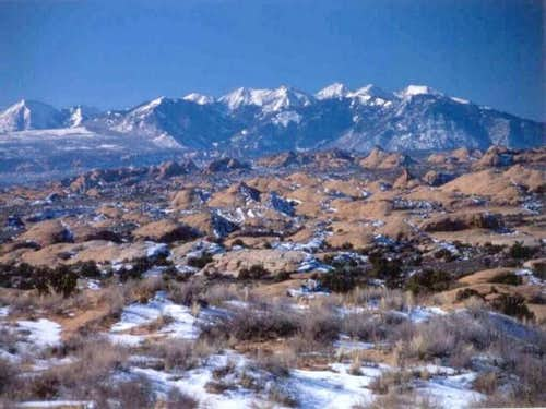 Picture of the La Sals in...