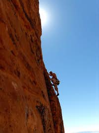 Snow Canyon Rock Climbing