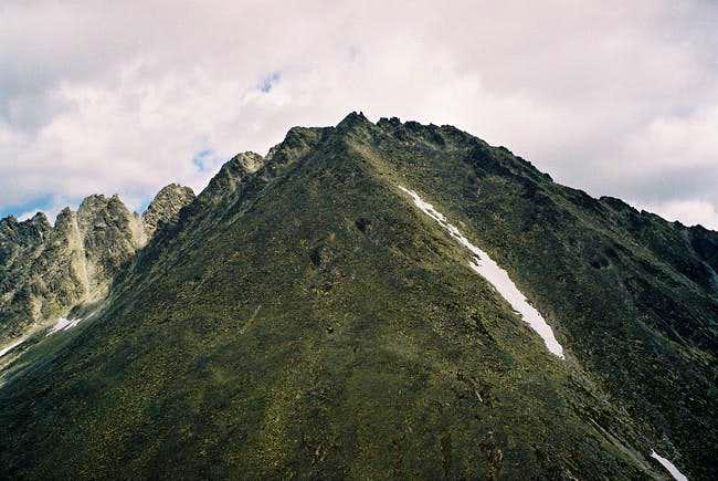 Koncistá (2537m) from Tupá...