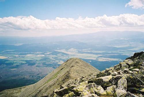 Klin (2186m) /south/ from...