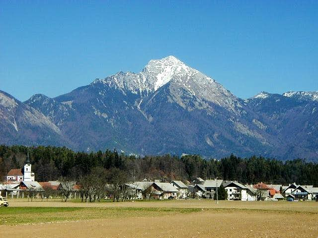 Storzic (2132m) from the...