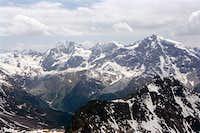 Koenigsspitze, Monte Zebru...