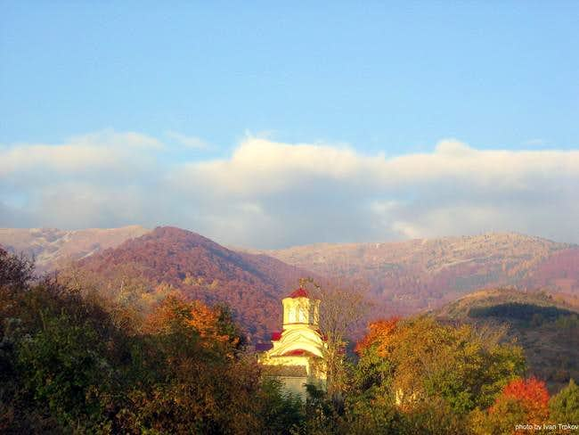 A view on the Neolica massif...