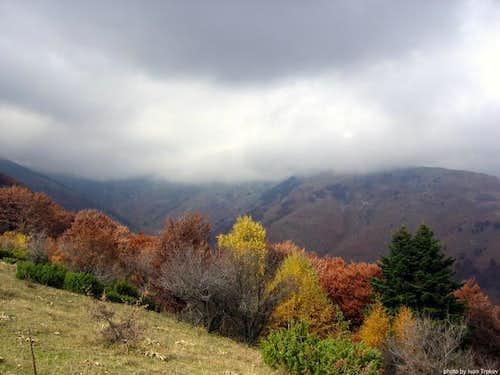 The Skrovo ridge on the...