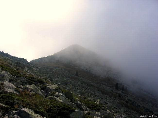 Skrkovo peak (2146 m)