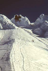 Avalanche peeled off from...