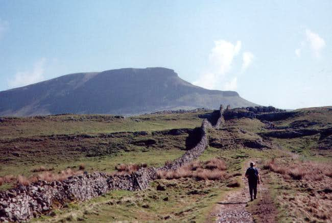 The acsent of Penyghent....