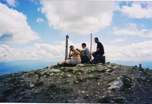 On the peak in July, 2004....