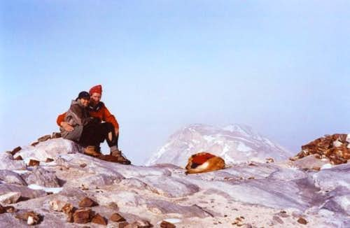 Summit of Matterhorn. Mid...