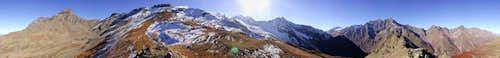 360° from the summit