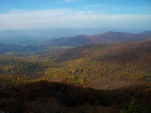 Mary's Rock - View 11/5/05