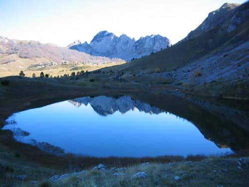 Gornje Bare lake, Zelengora...