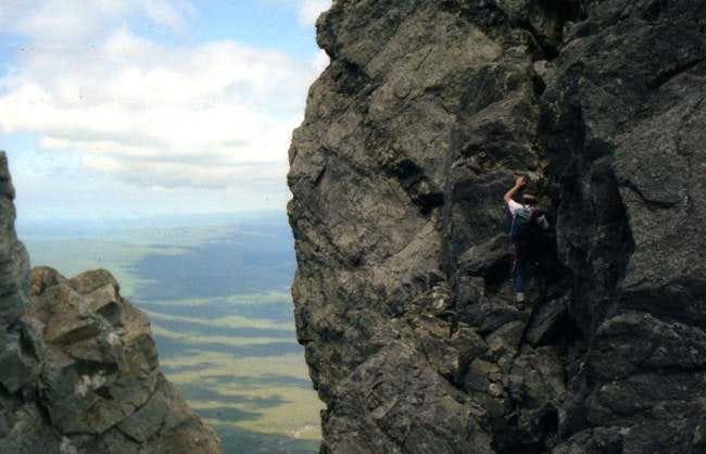 On Knights peak.Sgurr nan...