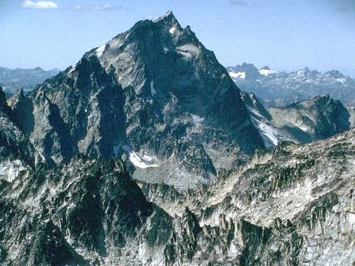 Mt. Stuart from the east on...