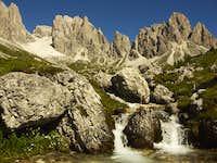 Croda Rossa and Popera, near...
