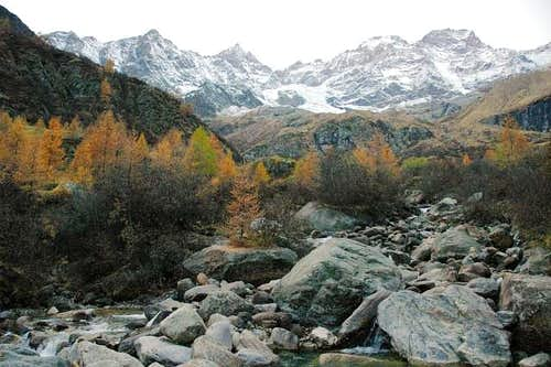 Valsesia side of Monte Rosa :...