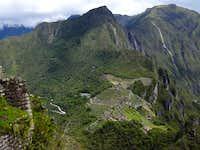 Machu Picchu and Cerro Machu...