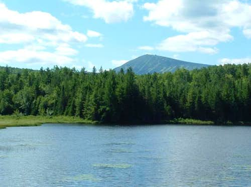Sugarloaf from Stratton Brook...
