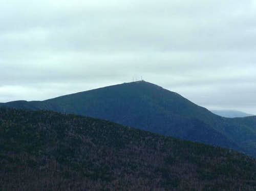 Sugarloaf from Mount Abraham.