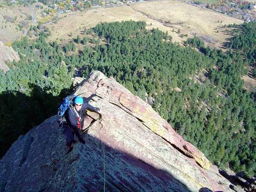 brenta nears the top of the...
