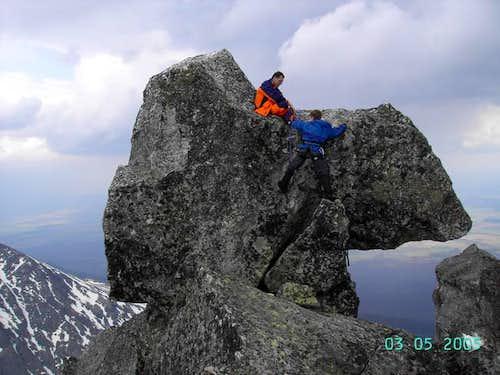 Climbing The Kowadlo