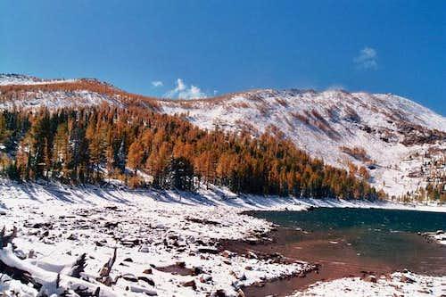 Carlton Lake and Lolo Peak....