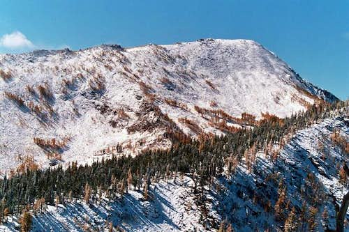 Lolo Peak as seen from the...