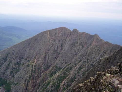 Knife Edge as seen from the...