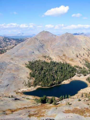 Folger Peak and the southern...