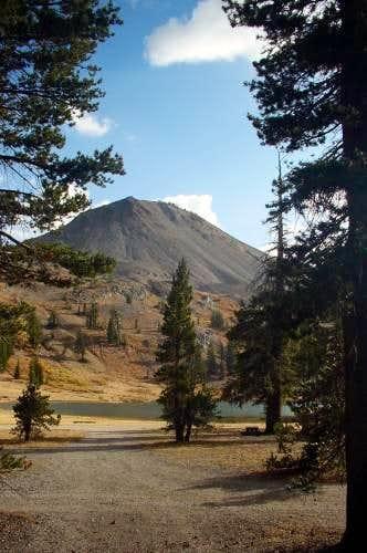 Hiram Peak as seen from the...