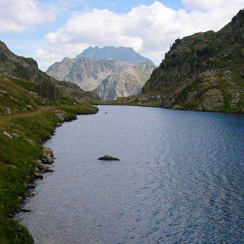 Lake of Valscura; in the...