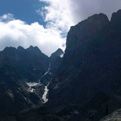 North side of Serra...