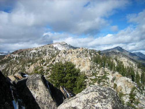 Echo Peak as seen from...