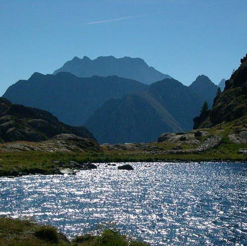 Valscura lake. In the...