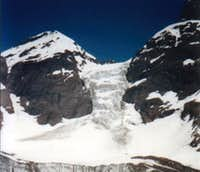 View of the east face of...