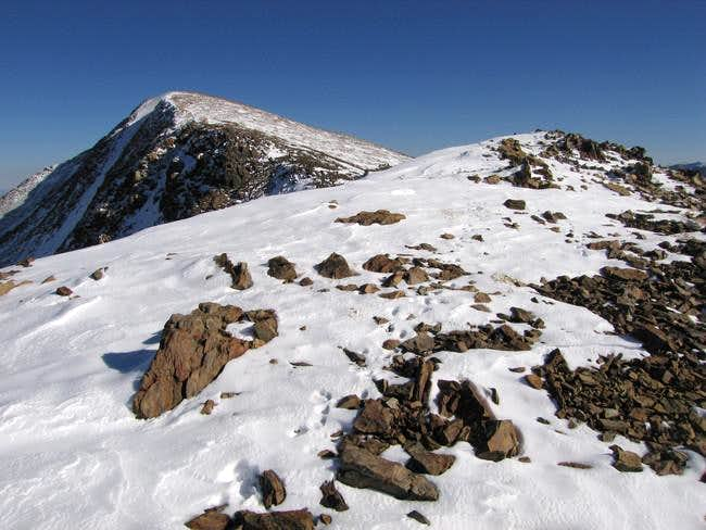 Mt Gibbs summit comes into...
