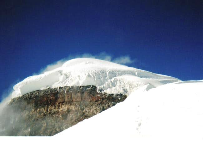Cotopaxi summit and Yanasacha...