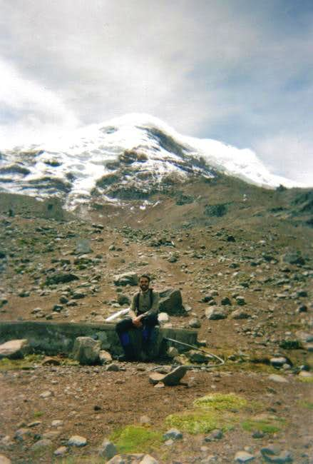 Chimborazo as seen from...