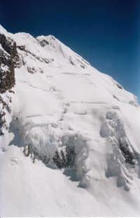 The north or main summit of...