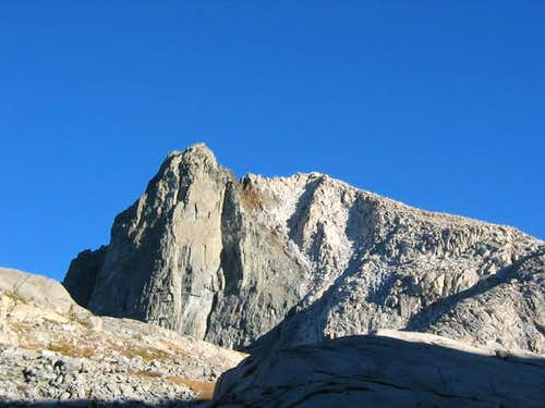 Mt. Stewart\'s south buttress...