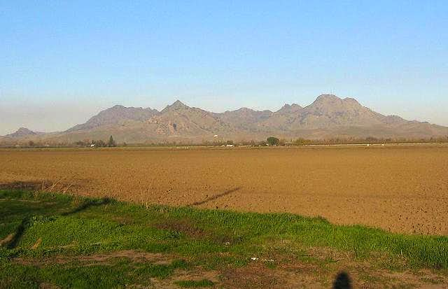The Sutter Buttes from about...